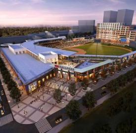 The New Charlotte Knights Stadium